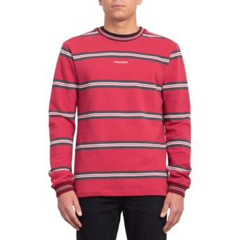 Volcom Burgundy Canionne Red Sweatshirt