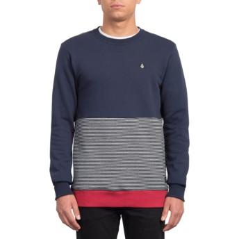 Volcom Navy Forzee Navy Blue Sweatshirt
