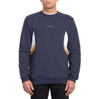 Volcom Navy Wailes Navy Blue Sweatshirt