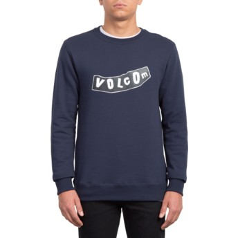 Volcom Navy General Stone Navy Blue Sweatshirt