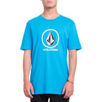 Volcom Cyan Blue Crisp Stone Blue T-Shirt
