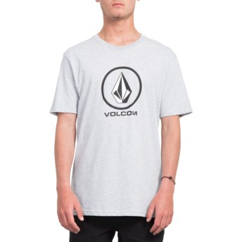 Volcom Long Line Heather Grey Crisp Stone Grey T-Shirt