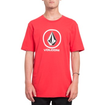 Volcom True Red Crisp Stone Red T-Shirt