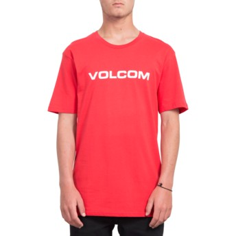 Volcom True Red Crisp Euro Red T-Shirt