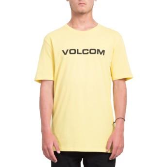 Volcom Yellow Crisp Euro Yellow T-Shirt