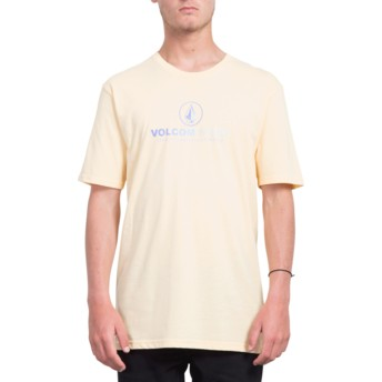 Volcom Light Peach Super Clean Orange T-Shirt
