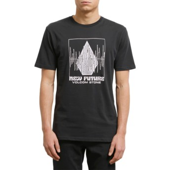 Volcom Black Lay It Down Black T-Shirt