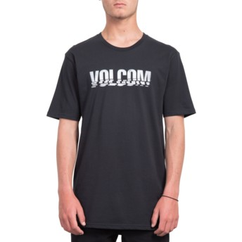 Volcom Black Chopped Edge Black T-Shirt