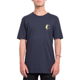 Volcom Navy Peace Off Navy Blue T-Shirt