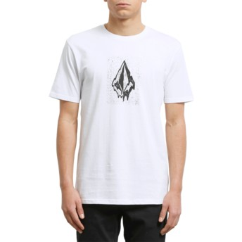 Volcom White Drippin Out White T-Shirt