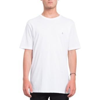 Volcom White Stone Blank White T-Shirt