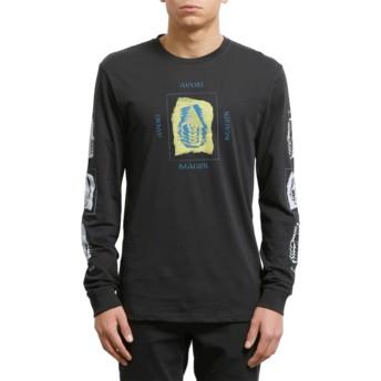 Volcom Black Avoid Black Long Sleeve T-Shirt
