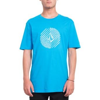 Volcom Cyan Blue Halfer Blue T-Shirt