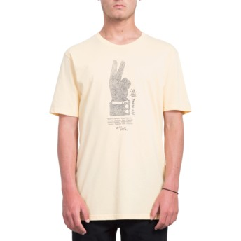 Volcom Light Peach Cancel History Orange T-Shirt