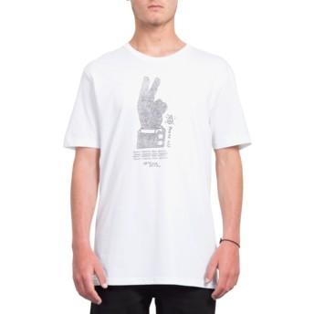 Volcom White Cancel History White T-Shirt