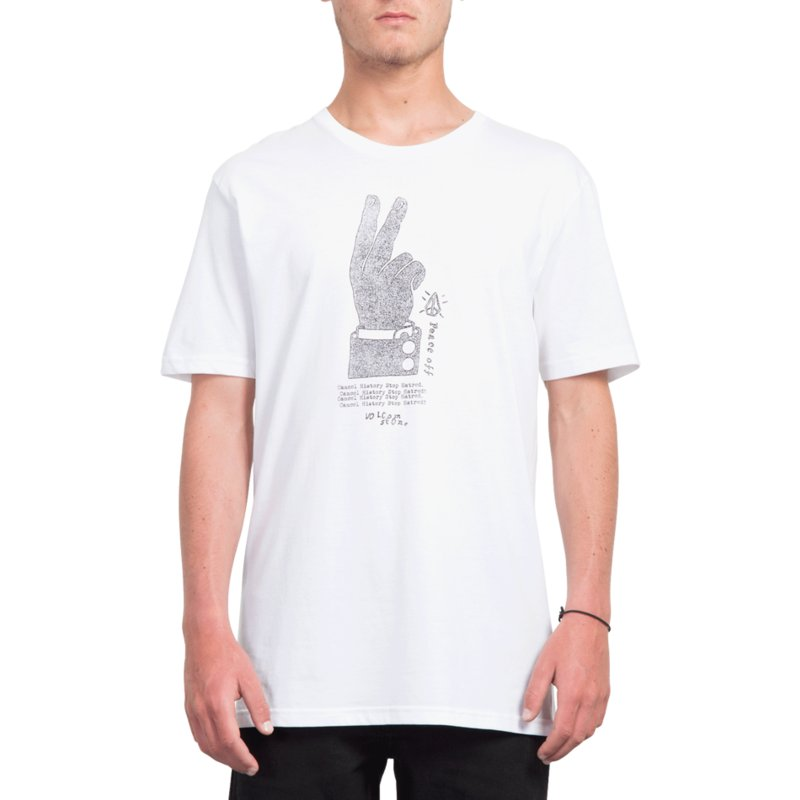 a10ea951 Volcom White Cancel History White T-Shirt