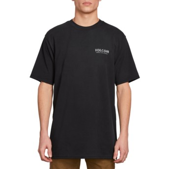 Volcom Black Wheat Paste Black T-Shirt