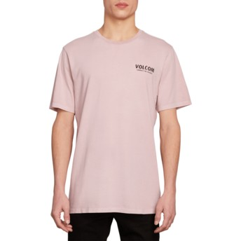 Volcom Pale Rider Wheat Paste Purple T-Shirt
