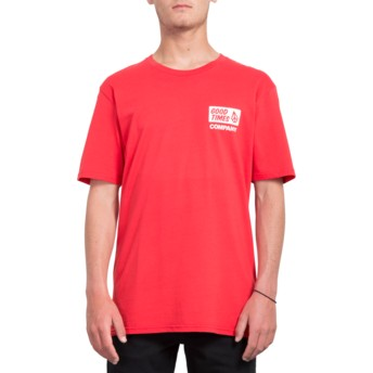 Volcom True Red Volcom Is Good Red T-Shirt