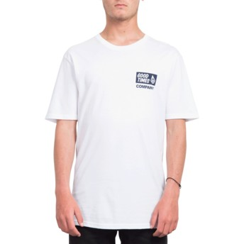 Volcom White Volcom Is Good White T-Shirt