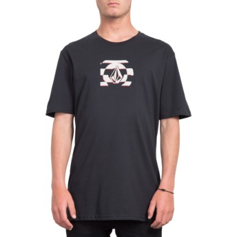 Volcom VHS Black Stone Black T-Shirt