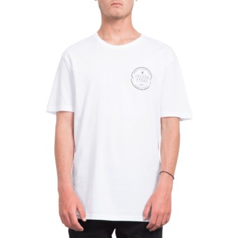 Volcom White Chop Around White T-Shirt