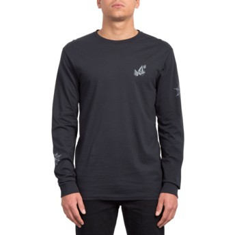 Volcom Black Lopez Web Black Long Sleeve T-Shirt