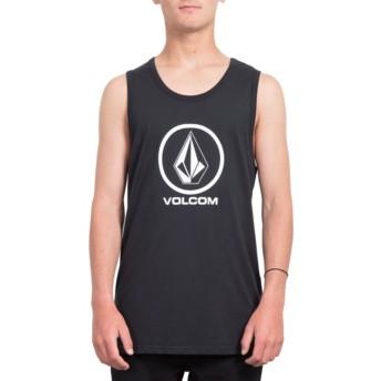 Volcom Black Crisp Stone Black Sleeveless T-Shirt