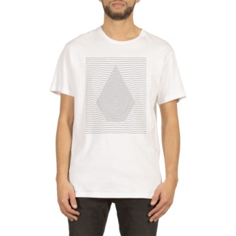 Volcom White Ripple White T-Shirt