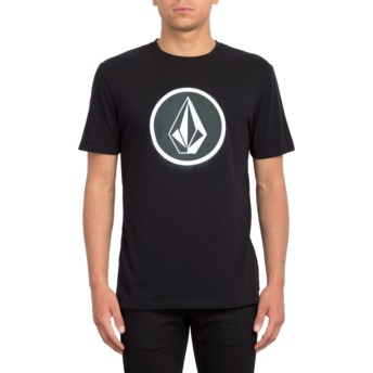 Volcom Black Spray Stone Black T-Shirt