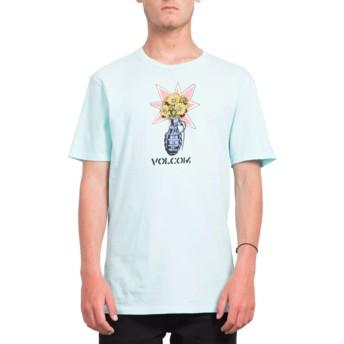 Volcom Pale Aqua Volcom Grenade Blue T-Shirt
