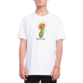 Volcom White Volcom Grenade White T-Shirt