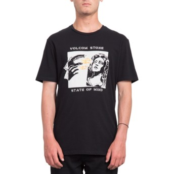 Volcom Of Mind Black State Black T-Shirt