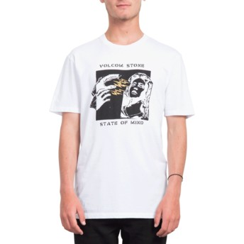 Volcom Of Mind White State White T-Shirt