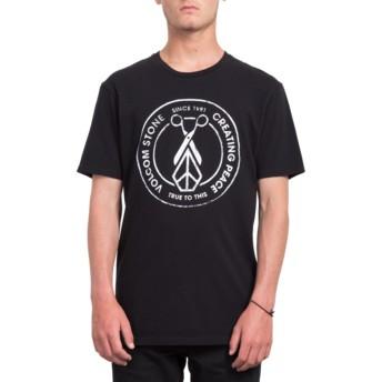 Volcom Black Peace Scissors Black T-Shirt
