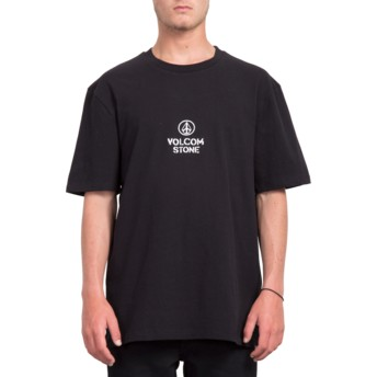 Volcom Black Cut The Rope Black T-Shirt
