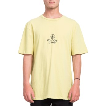 Volcom Lime Cut The Rope Yellow T-Shirt