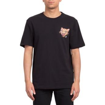 Volcom Black Ozzy Tiger Black T-Shirt