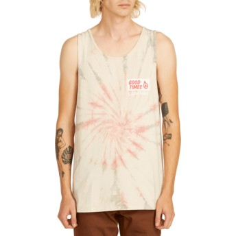 Volcom Multi Volcom Is Good Multicolor Sleeveless T-Shirt