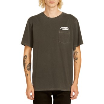 Volcom Black Oval Patch Black T-Shirt