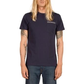 Volcom Indigo Soundmaze Navy Blue T-Shirt