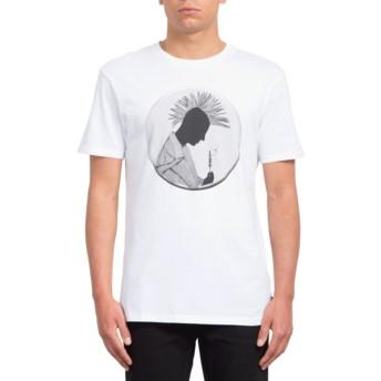 Volcom White Mario Duplantier White T-Shirt