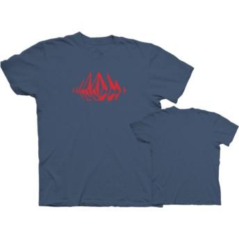 Volcom Indigo Stone Sounds Navy Blue T-Shirt