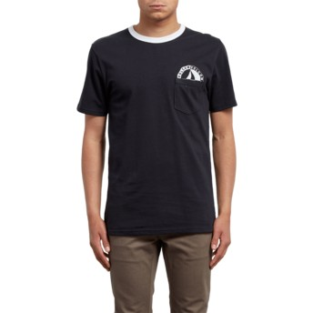 Volcom Black Vert Black T-Shirt