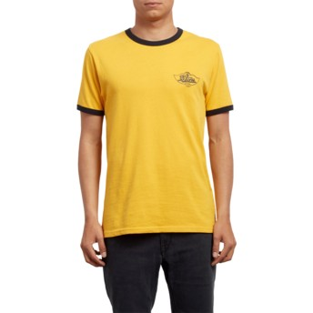 Volcom Tangerine Winger Yellow T-Shirt