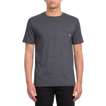 Volcom Black Heather Heather Black T-Shirt