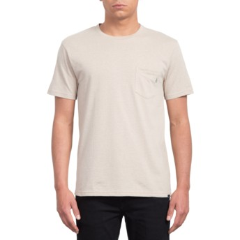Volcom Oatmeal Heather Beige T-Shirt