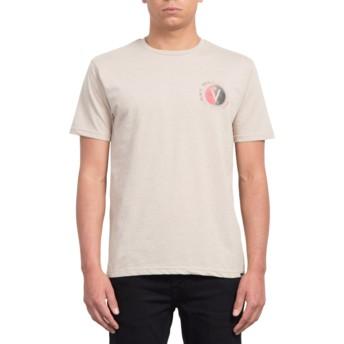 Volcom Oatmeal Find Beige T-Shirt