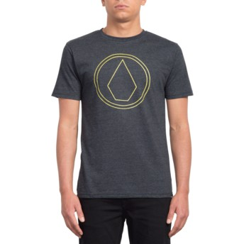 Volcom Heather Black Pin Stone Black T-Shirt