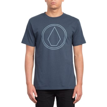 Volcom Indigo Pin Stone Navy Blue T-Shirt